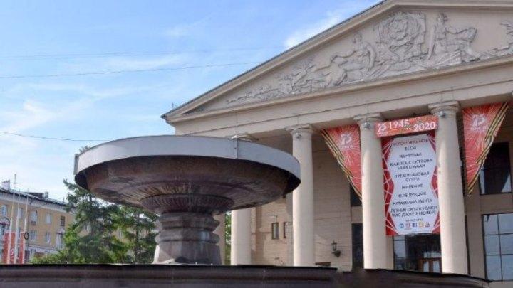 В День ВДВ в Кемерове отключили фонтаны