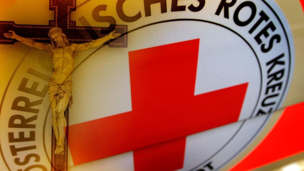 В Бельгии выносят Распятия из учреждений Общества Красного Креста