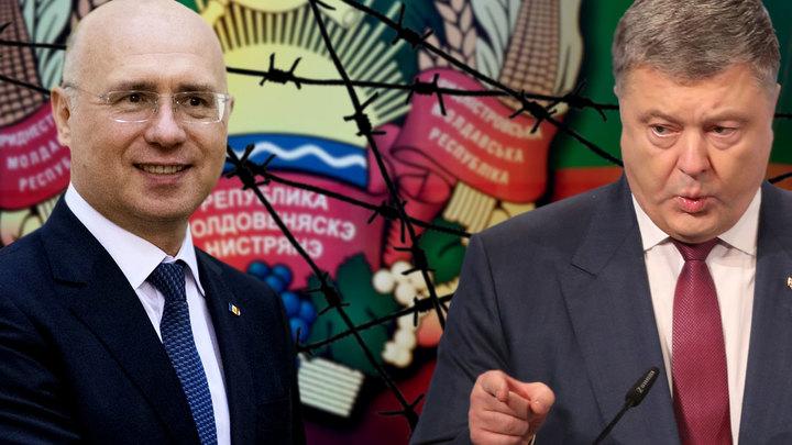 Киев и Кишинёв затягивают удавку вокруг русского Приднестровья