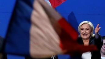Марин Ле Пен: Францией в любом случае будет управлять женщина - если не я, то Меркель
