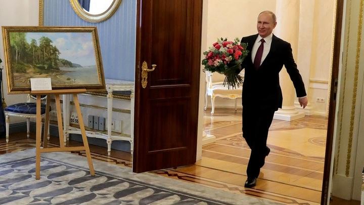 «Здоровья, как броня Т-34»: Народ поздравил Путина с днем рождения