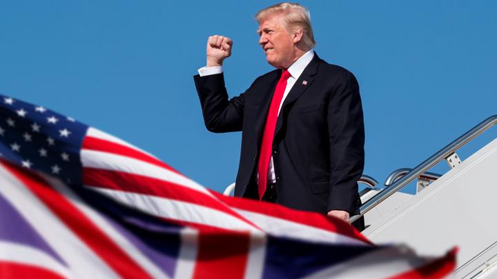 Запланированный скандал. Трамп прибыл с госвизитом в Британию
