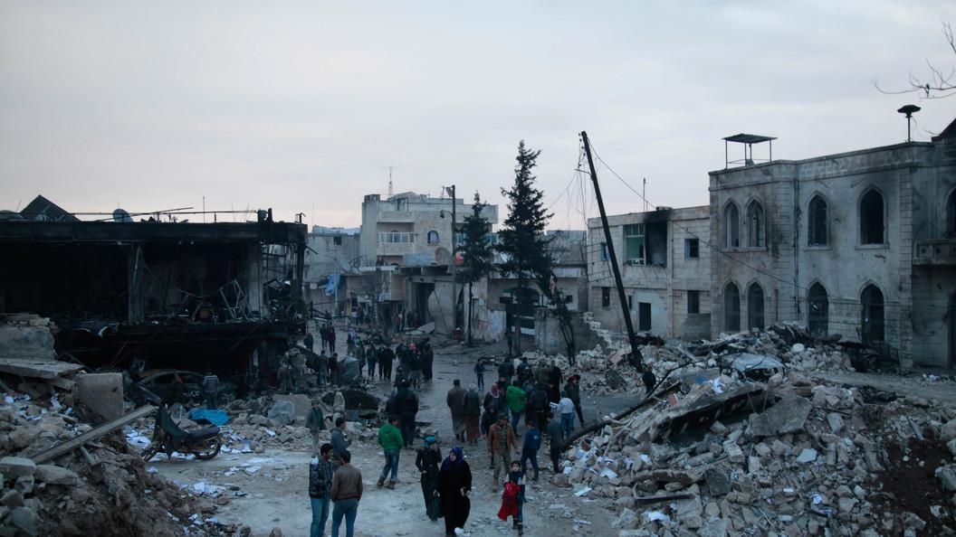 На севере сирийской Латакии прогремел взрыв