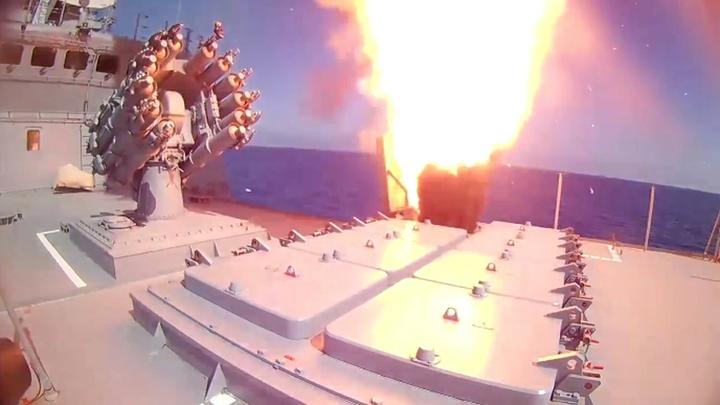 Корабли ВМФ совершат новые ракетные пуски у берегов Сирии