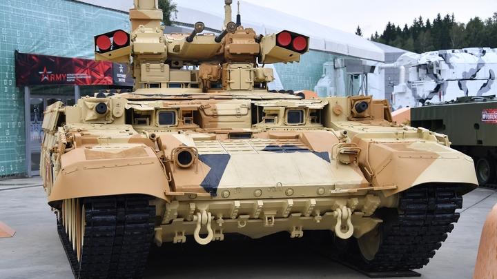 Русский Терминатор вышел на учения: Эксперт объяснил ажиотаж вокруг этой машины