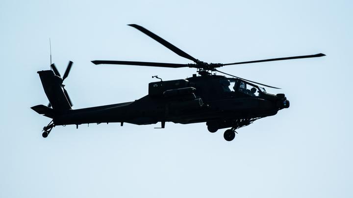 Американский Apache против советской Осы: Видео сражения опубликовали в Сети