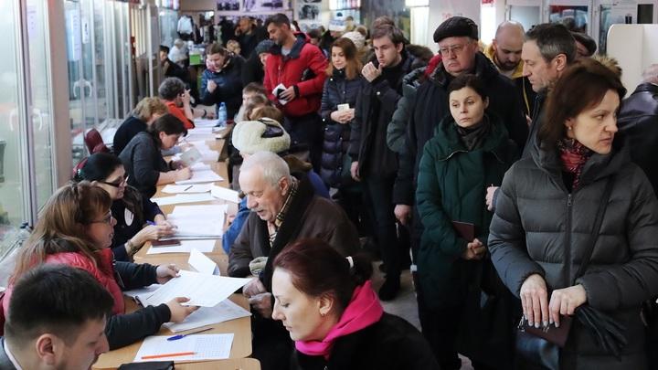 Выборы рекордной явки