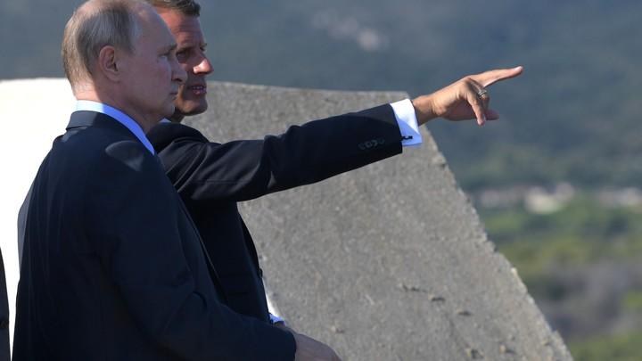 Ещё одна интрига будущей встречи в Париже: Макрон ответил на послание Путина