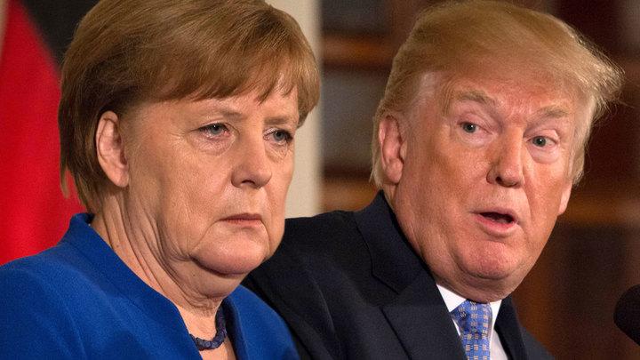 Меркель и Макрон начали плясать под дудку Трампа