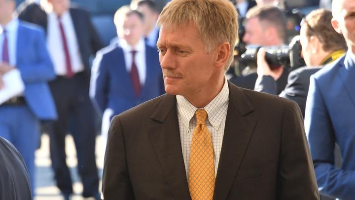 Действительно, он приезжал: Песков узнал тему разговора Путина и Медведчука