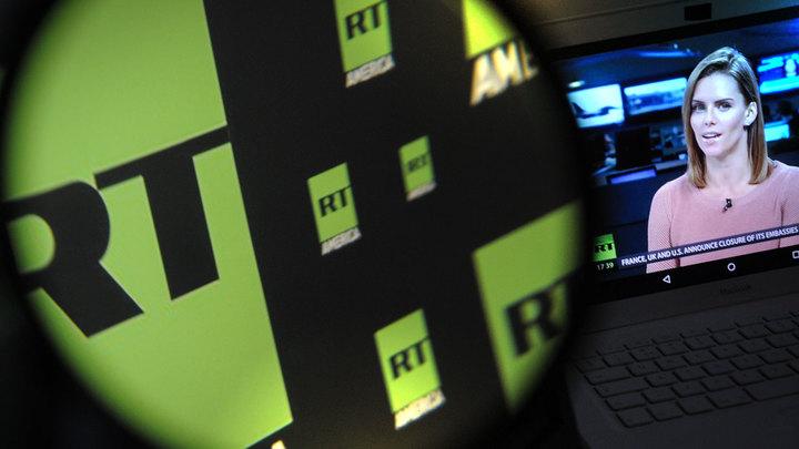 США боятся правды и провоцируют Россию, затыкая рот Russia Today