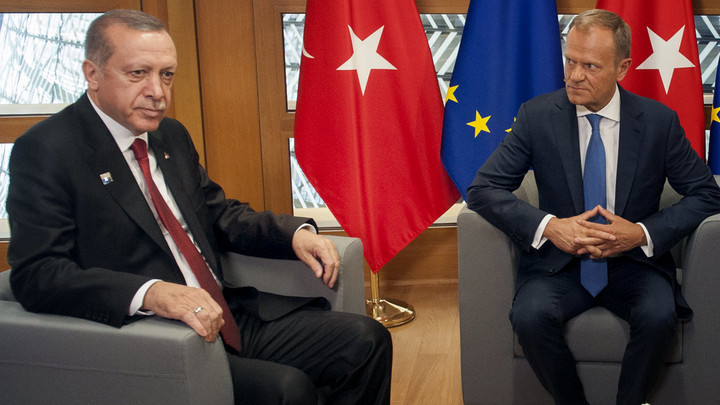 ЕС потребовал от Турции прекратить агрессию против Кипра и Греции
