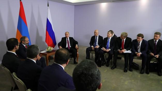 Путин назвал приоритетные направления евразийской интеграции