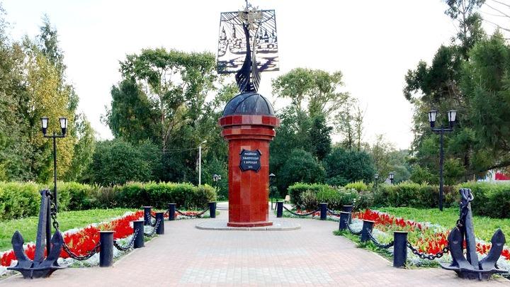 Памятник мореходам. Фото автора