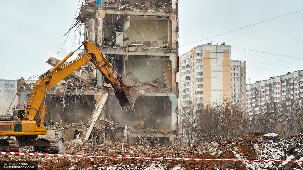 Реновация снос пятиэтажек в москве