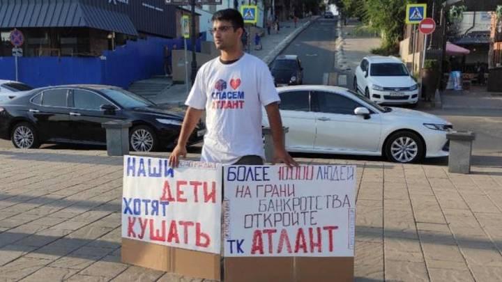Дайте людям работать!: Предприниматели с закрытых аксайских рынков провели пикеты в Ростове