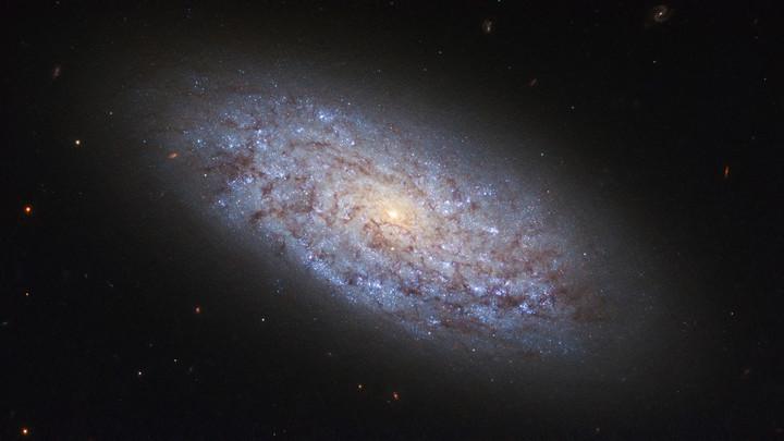 NASA выяснило, как выглядит разорванная галактика
