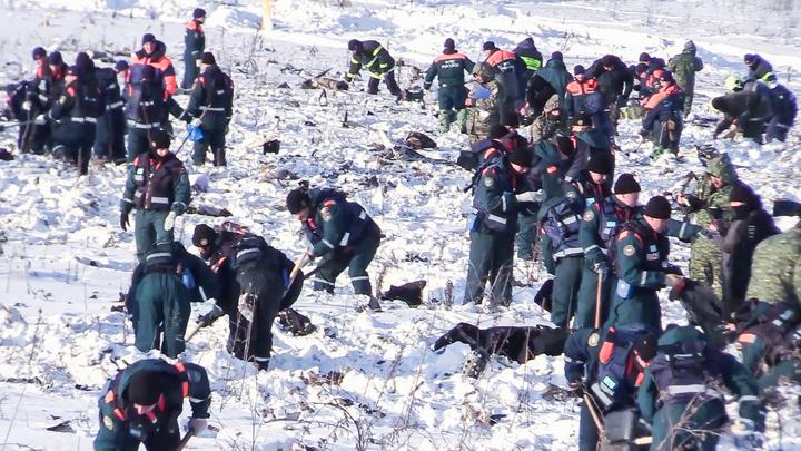 Ан-148 - поиски продолжаются: обнаружены 1,4 тысячи фрагментов тел, 499 частей самолета