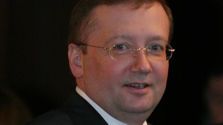 Посол России в Великобритании выступает в Лондоне после высылки дипломатов