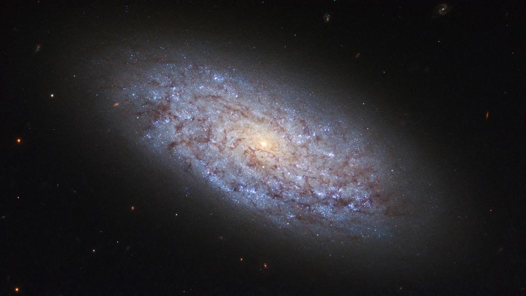 Телескоп Хаббл показал ученым столкновение и смерть двух галактик