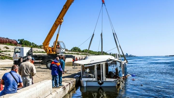 «До отплытия капитан был трезв»: Пристань сняла с себя вину за крушение катамарана на Волге