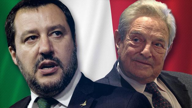 Схватка за Италию: «Друзья Путина» против Сороса и Меркель