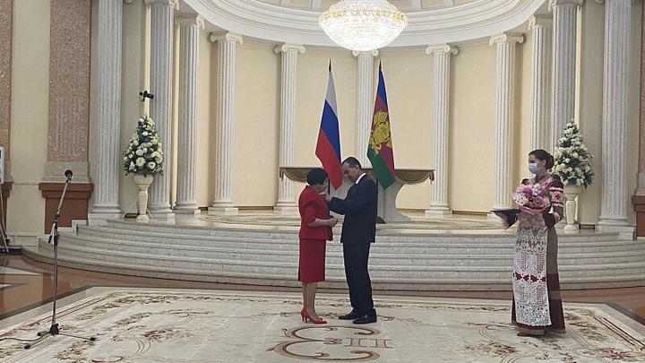 В День России наградили выдающихся жителей Краснодарского края