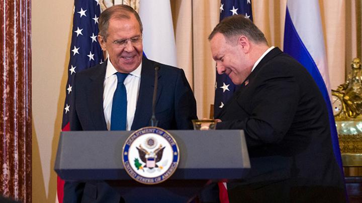 Помпео подарил России Крым, Лавров заказал много текилы