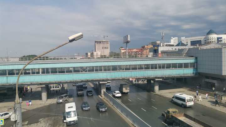 На Северном объезде Новосибирска образовалась 10-километровая пробка