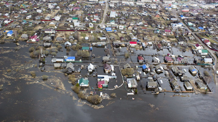 Более 60 домов оказались в зоне подтопления в Уренском районе Нижегородской области