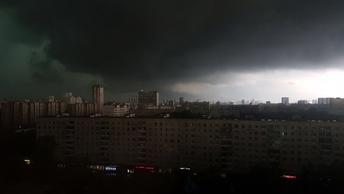В Москве до 31 июля объявлено штормовое предупреждение