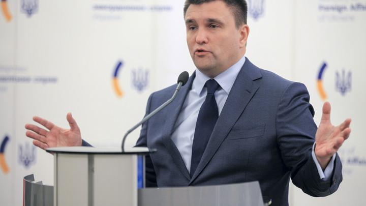 «Осудить за геноцид»: Отказавшего в воде Крыму Климкина захотели наказать