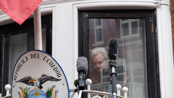 ЧП с женой Трампа-младшего напомнило Ассанжу о полученном конверте с порошком