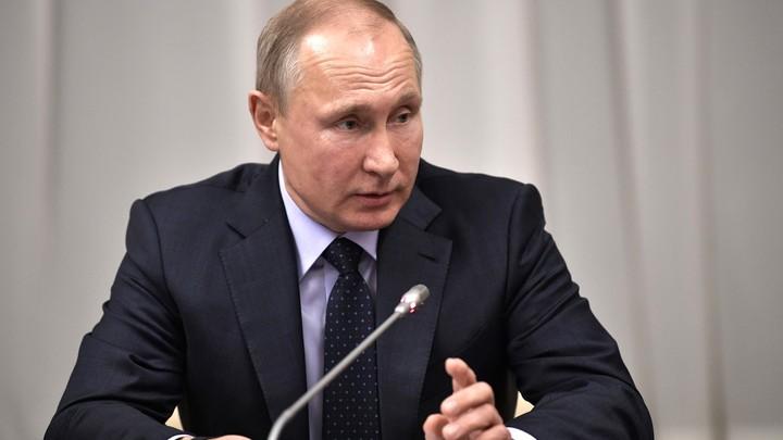 Путин выразил соболезнования родственникам погибших в авиакатастрофе в Подмосковье