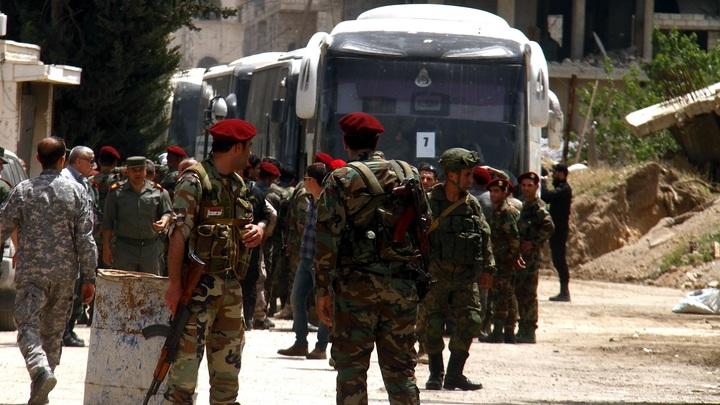 Душманов проводили из Дамаска