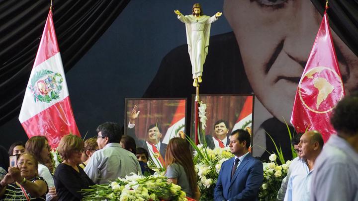 Я снова разгромил их: Дочь покончившего с собой экс-президента Перу зачитала его предсмертное послание