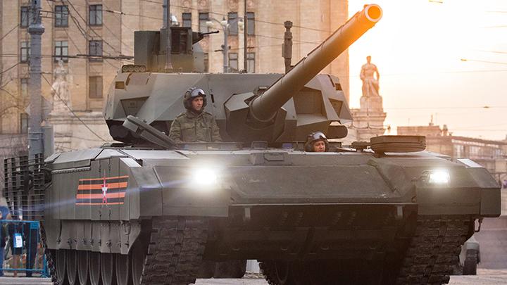 Раздался скрежет американских зубов: лучше русского танка Армата нет ничего