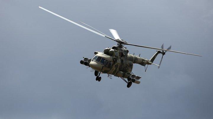 Упал после взлёта и загорелся: В Саратовской области потерпел катастрофу вертолёт Ми-8 - источник