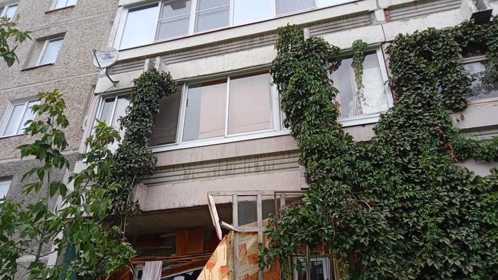 В МЧС рассказали о состоянии дома в Екатеринбурге после взрыва газа