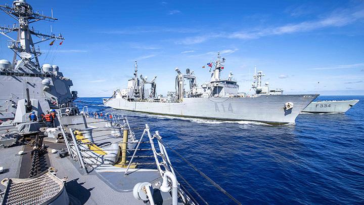 Ветер с Запада: На Чёрном море тренируются нападать на Россию