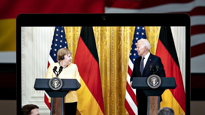 Русская смекалка поможет: Россия обойдёт позорный сговор Меркель и Байдена по Северному потоку – 2