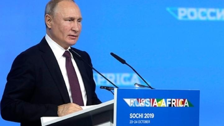 Никакого возврата в пещеры и троечники из ЦБ: Главное из выступления Путина на форуме Россия зовёт!