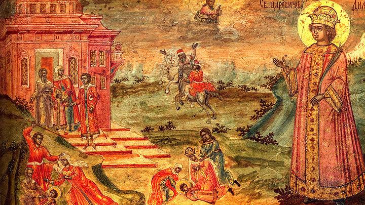 Небесный защитник детей. Благоверный царевич Димитрий Угличский. Церковный календарь на 28 мая