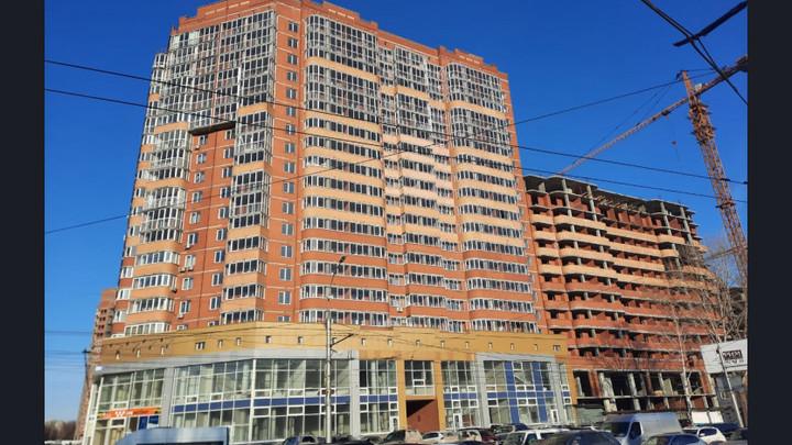 В Новосибирске сдали две секции долгостроя на улице Дуси Ковальчук