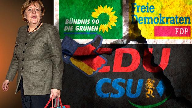Германия Ангелы Меркель теряет управляемость