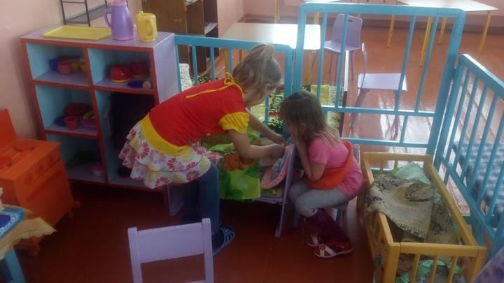 К Новому году в селе Памятное отремонтировали детский сад