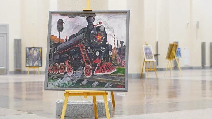 На ивановском железнодорожном вокзале открылась необычная выставка
