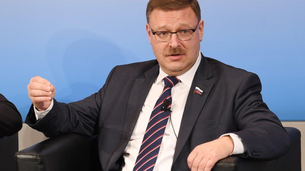 Косачев призвал ответить на санкции США несимметрично и болезненно