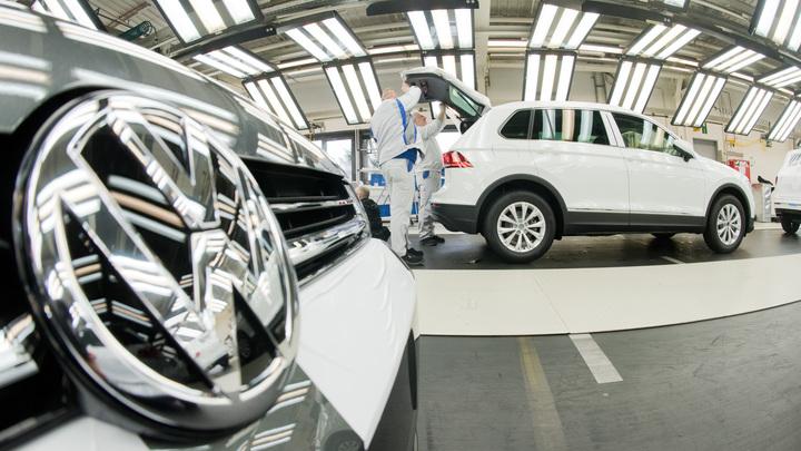 Названа обвалившаяся цена на популярные модели Volkswagen Tiguan в России