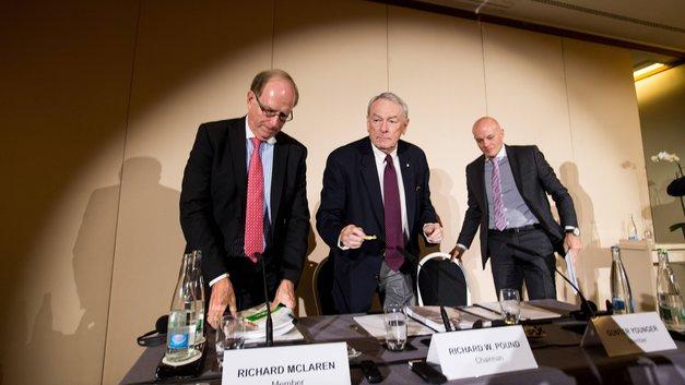 Глава комиссии WADA Ричард Макларен отказался от обвинений по допингу в адрес России